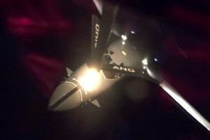 간밤 美B-1B폭격기 동·서해상에서 공대지 미사일 훈련