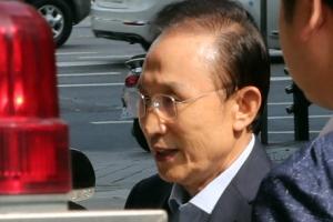 [포토] 이명박 전 대통령, 삼성동 사무실로