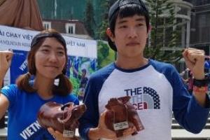김지섭 베트남산악마라톤 42㎞ 4시간10분 만에 주파, 남녀 모두 우승