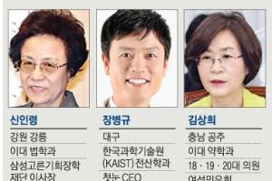 국가교육회의 의장 신인령·4차산업혁명위원장 장병규