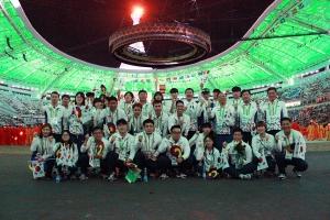 한국, 金15개·종합7위로 실내무도AG 마무리