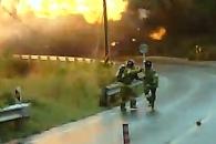 [영상] LPG 탱크로리 폭발…인명 피해 막은 22년 경력…