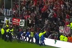 프랑스 프로축구서 난간 붕괴 사고…5명 중상