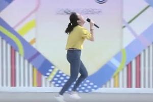 전국노래자랑 MC도 놀란 어느 여성 참가자 무대