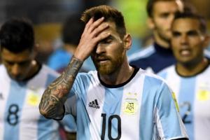 [포토] '메시 골대' 아르헨, 페루와 비겨… 월드컵 탈락 위기