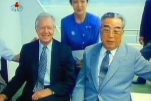 """카터, 김정은과 면담 희망…트럼프 """"전직 대통령이 관여할 일 아니다"""""""