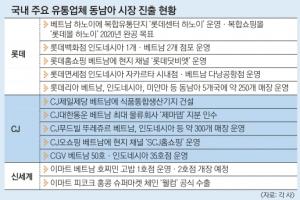 """""""中 대신 동남아""""… 새 시장 뚫는 유통업계"""