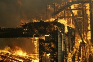 한인 많은 美 오렌지카운티에도 큰 산불…4천명 대피