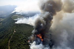 미 캘리포니아주 북부 대형 산불…최소 10명 사망·2만여명 대피