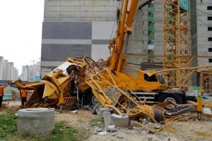 경찰, 의정부 타워크레인 사고 관련 원청·하도급업체 압수수색