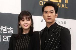[포토] 송승헌-고아라 '블랙' 최강 비주얼 커플