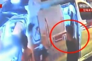 '어금니 아빠' 이영학, 아내 투신 현장서 전화만…당시 CCTV 영상보니