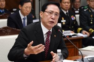[서울포토] 국방부 국정감사에서 답변하는 송영무 장관