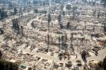 '산불로 사라진 도시'