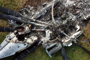 일 오키나와 화재사고난 미군 헬기서 방사성 물질 발견