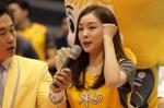 '화이팅~!' 연아의 응원…