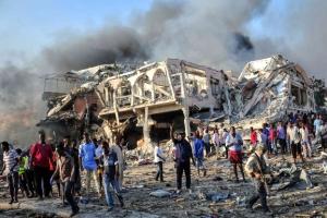 소말리아 최악 폭탄 테러…사망자 300명 육박, 더 늘어날 듯