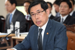 [서울포토] 답변하는 박상기 법무부 장관