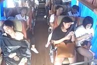 버스 전복사고에 1명 부상…안전벨트의 중요성