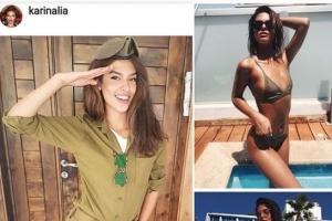 세계에서 가장 아름다운 이스라엘 여군들