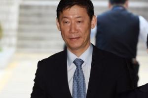 [서울포토] 공판 출석한 조윤선 전 장관 남편 박성엽 변호사