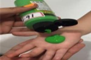 어린이 놀이용 물감 유해물질 안전 위험