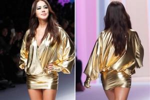 [포토] 엄정화, 카리스마 넘치는 '금빛 섹시미'