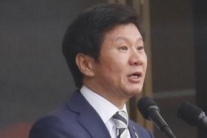 정몽규 축구협회장, 오늘 '위기의 한국 축구' 입장표명
