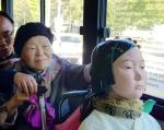 버스 함께 탄 소녀상과 위…