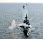 서해상 한미 해군 대함사…