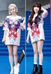 서인영-맹승지 '같은 옷…