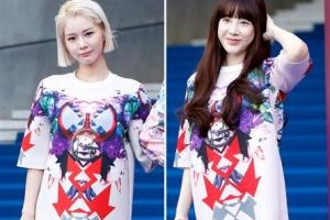 [포토] 서인영-맹승지 '같은 옷 다른 느낌'