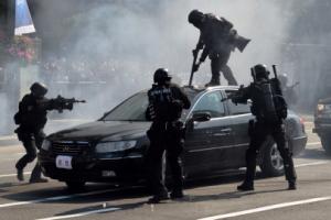 광화문 광장서 경찰의 날 기념식