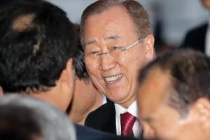 반기문 IOC 윤리위원장, 본격적인 체육인 행보 시작
