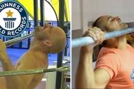 1분 동안 턱걸이 세계에서 가장 많이 한 사람은?