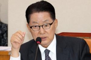 """박지원, 통합론에 탈당 가능성 시사…""""소통도 없이 밀어붙이나"""""""
