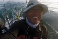 바다서 길 잃은 이구아나 구해준 어부