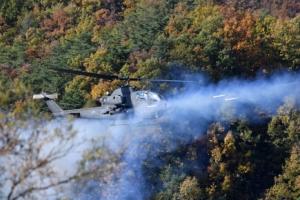 [서울포토] 코브라 헬기, 표적 향해 고폭탄 발사