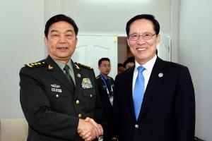 한중 국방장관 회담 성사 막전막후