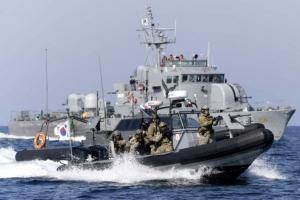 해군 NLL 도발 격멸 훈련