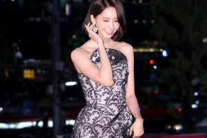 [포토] 윤아, 우아한 드레스 자태