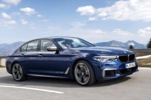 BMW코리아 '뉴 M550d xDrive' 출시…400마력·제로백 4.4초
