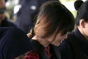 [포토] '섬뜩한 미소 짓는' 김정남 암살범