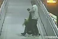 주먹질에 발길질까지…기차역서 자행된 데이트폭력