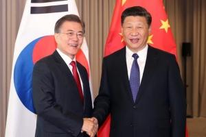 문 대통령·시진핑 주석, 11일 오후 베트남 다낭서 정상회담…'사드봉합' 후 처음