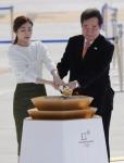평창동계올림픽 성화 점화…