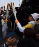 '평창올림픽 성화' 전달…