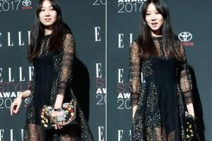 [포토] 공효진, 아찔한 시스루 드레스