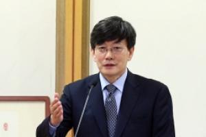 [서울포토] 제20회 심산상 수상소감 발표하는 손석희