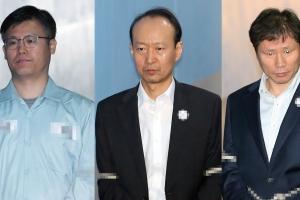 '문고리 3인방' 오늘 나란히 한 법정에…국정원 직원들 증인석에